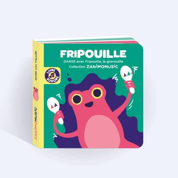couverture livre sonore Fripouille