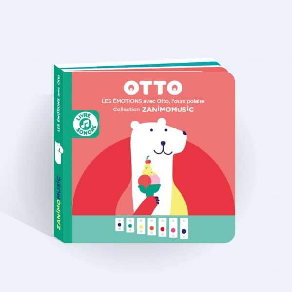 couverture livre sonore Otto