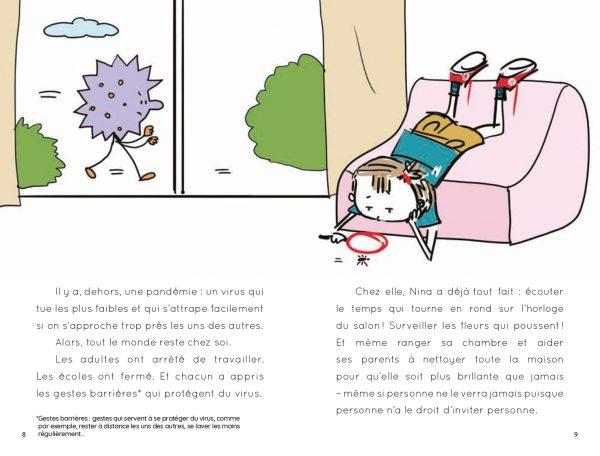 page intérieure trésor confiné 2