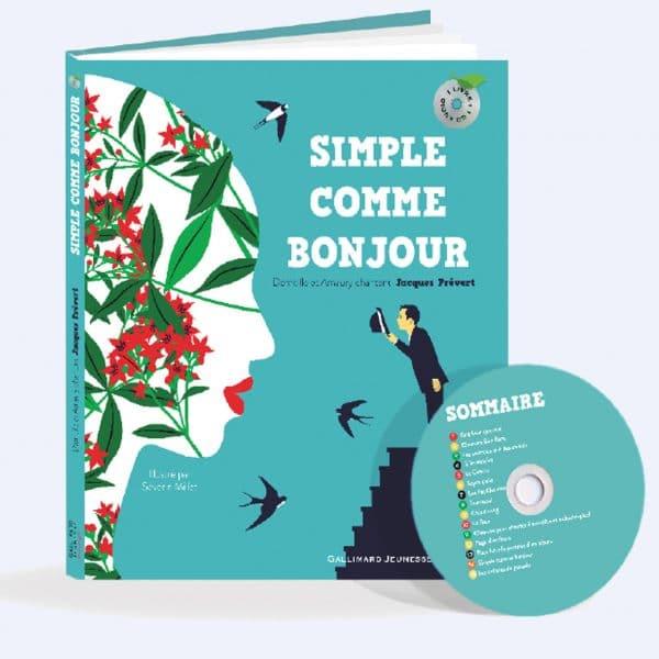 couverture livre CD Simple Comme Bonjour