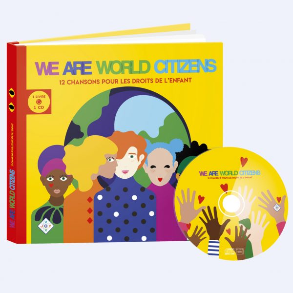 couverture livre CD We Are World Citizens