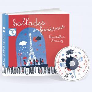 couverture livre CD Ballades enfantines