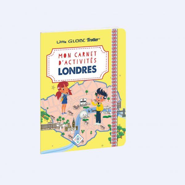 couverture carnet d'activités à Londres
