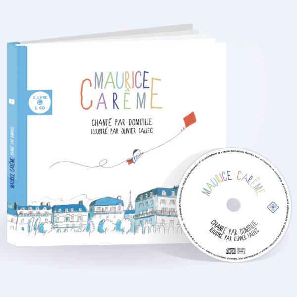 Couverture livre CD de Maurice Carême