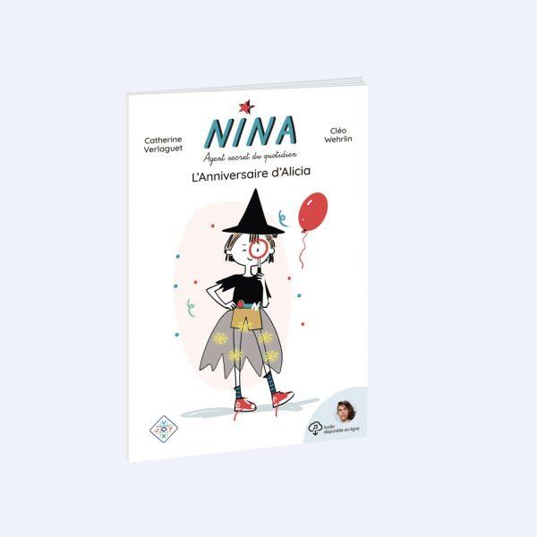 couverture du roman Nina, l'anniversaire d'Alicia