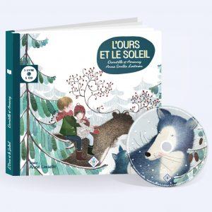 couverture livre CD l'Ours et le soleil