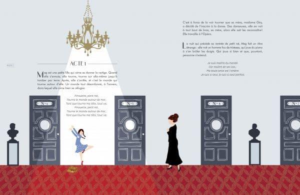 page intérieure conte du Fantôme de l'Opéra