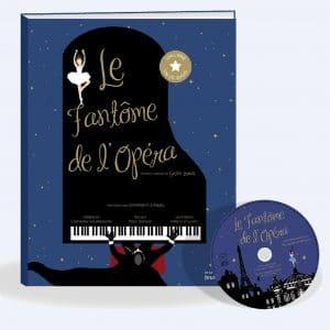 couverture conte du Fantôme de l'Opéra