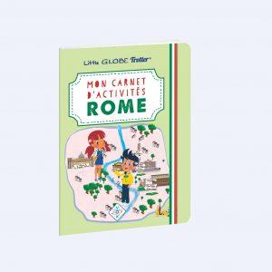 couverture carnet d'activités Rome