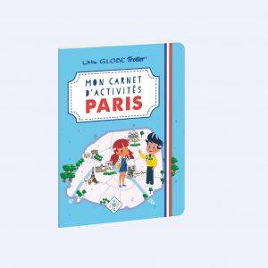 Couverture carnet d'activité Paris