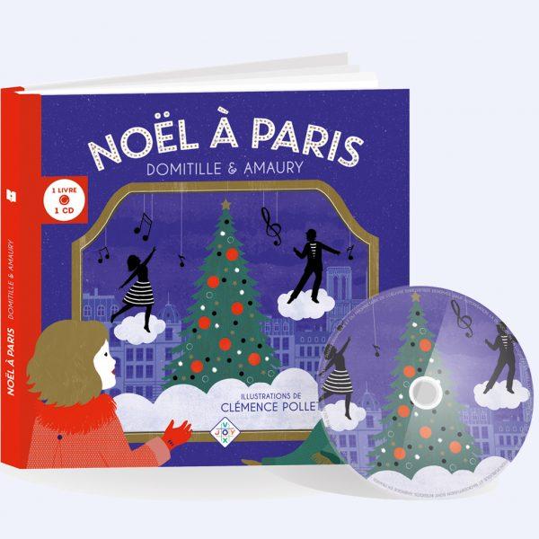 couverture livre CD Noël à Paris