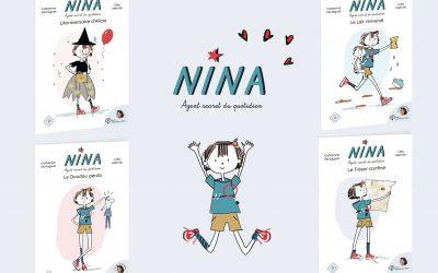 Les romans Nina, agent secret du quotidien !