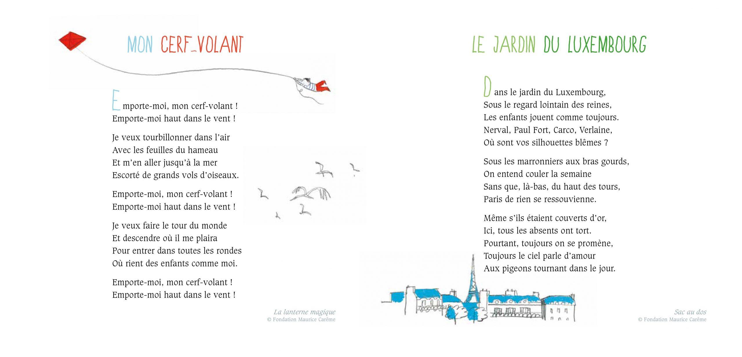 Page intérieure Maurice Carême
