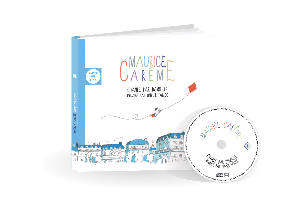 Couverture Livre CD Maurice Carême
