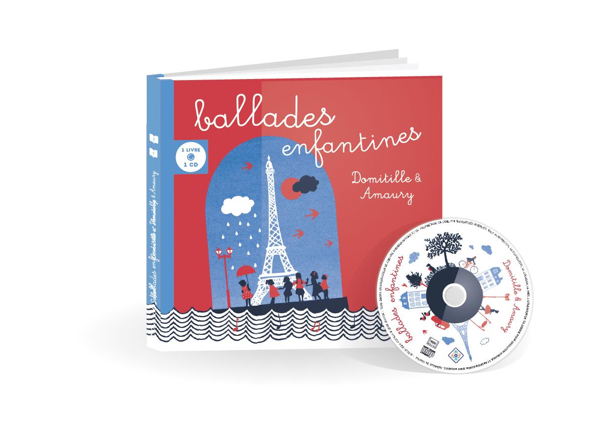 Couverture Ballades Enfantines