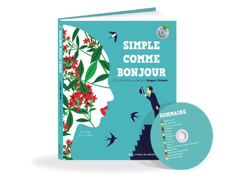 Livre CD Simple Comme Bonjour